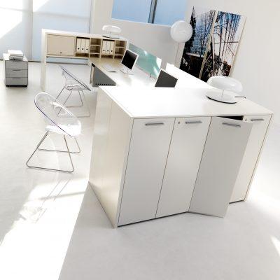 scrivania per ufficio sistema ponte