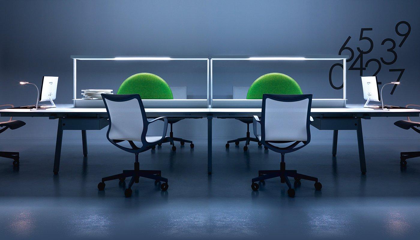 Illuminazione per ufficio lucerna ivm office arredamento ufficio