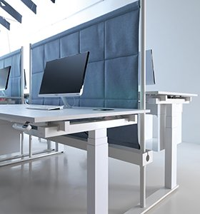 scrivanie regolabili per ufficio