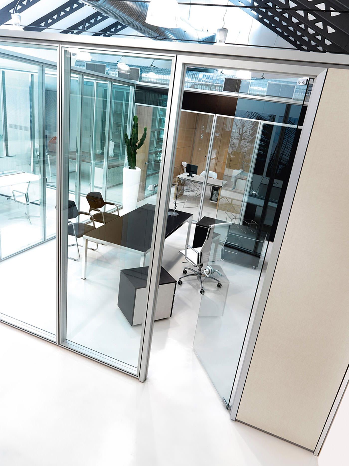 Parete divisoria per ufficio infinity parete per ufficio for Ufficio 10