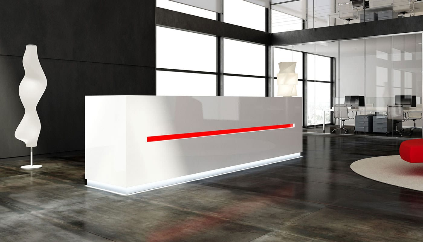 Reception ufficio salve ivm office for Design ufficio arredo
