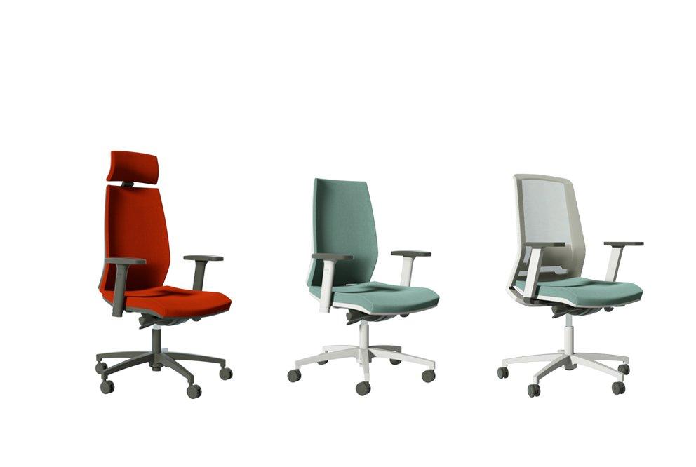 Sedie per ufficio linea ivm office sedute per ufficio for Sedute per ufficio
