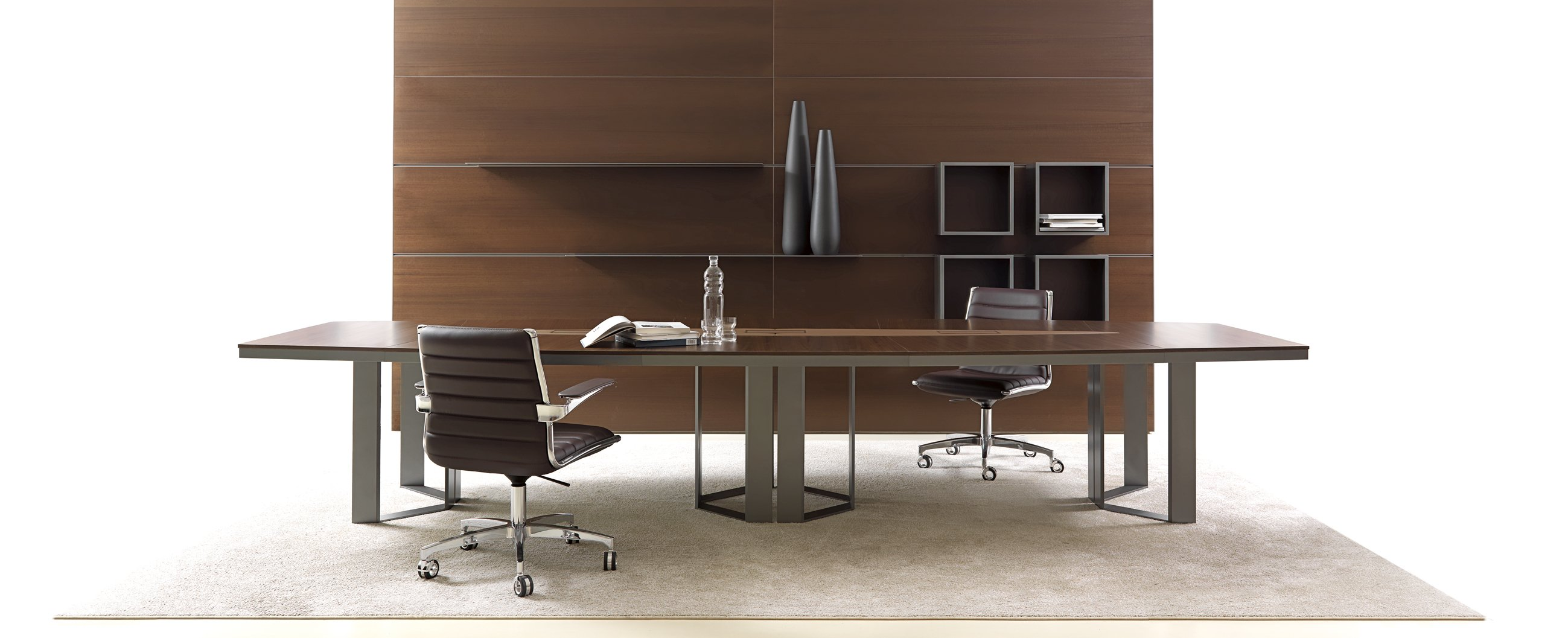 Office meeting tables office furniture ivm office for Arredamento mobili roma