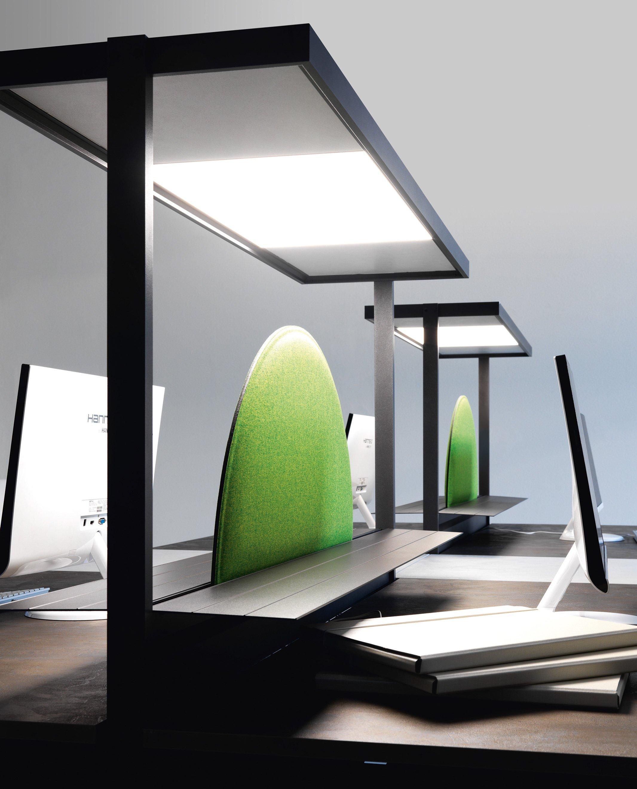 Illuminazione per ufficio lucerna ivm office for Illuminazione d arredo