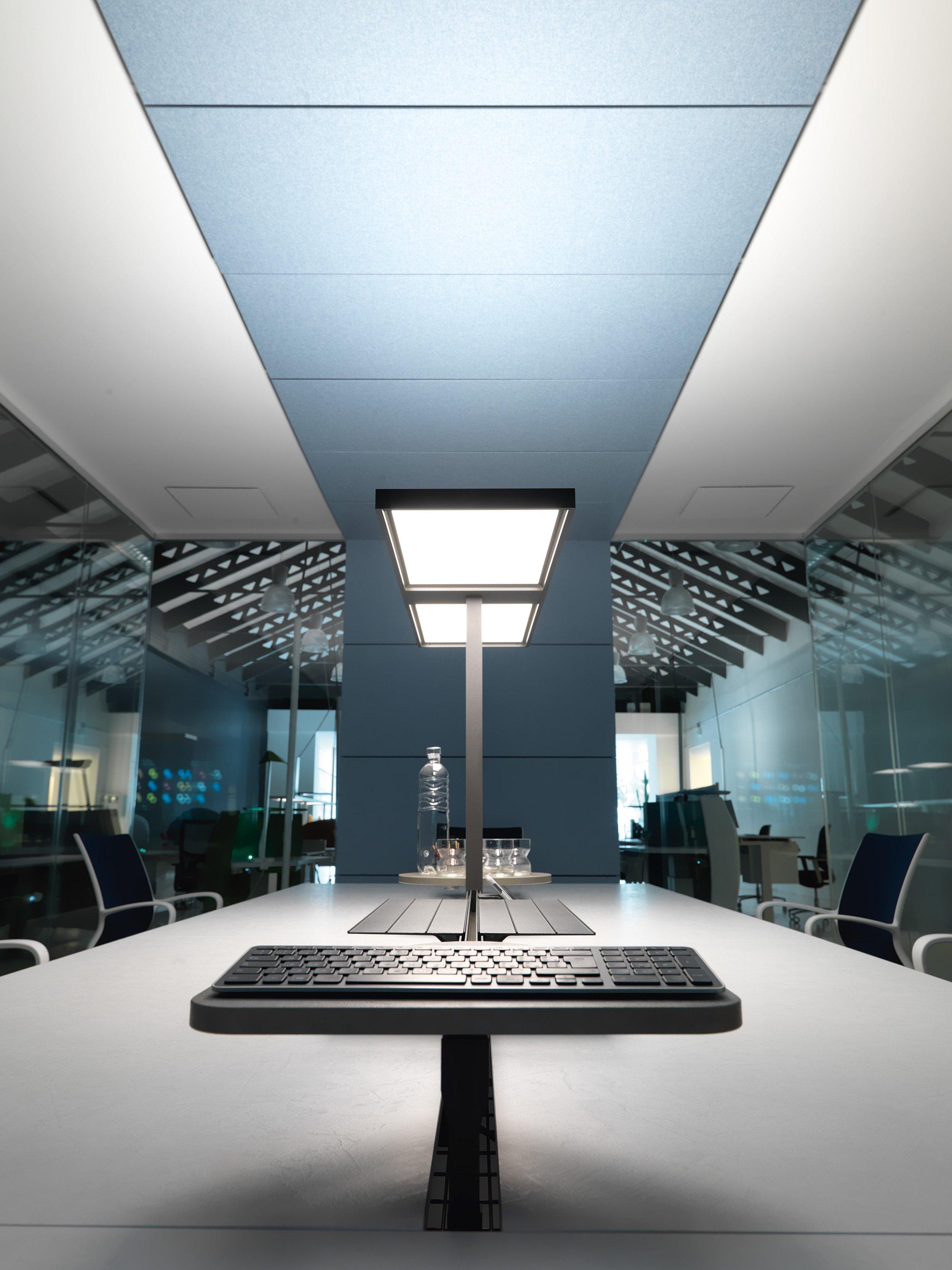 Illuminazione per ufficio lucerna ivm office for Illuminazione ufficio design