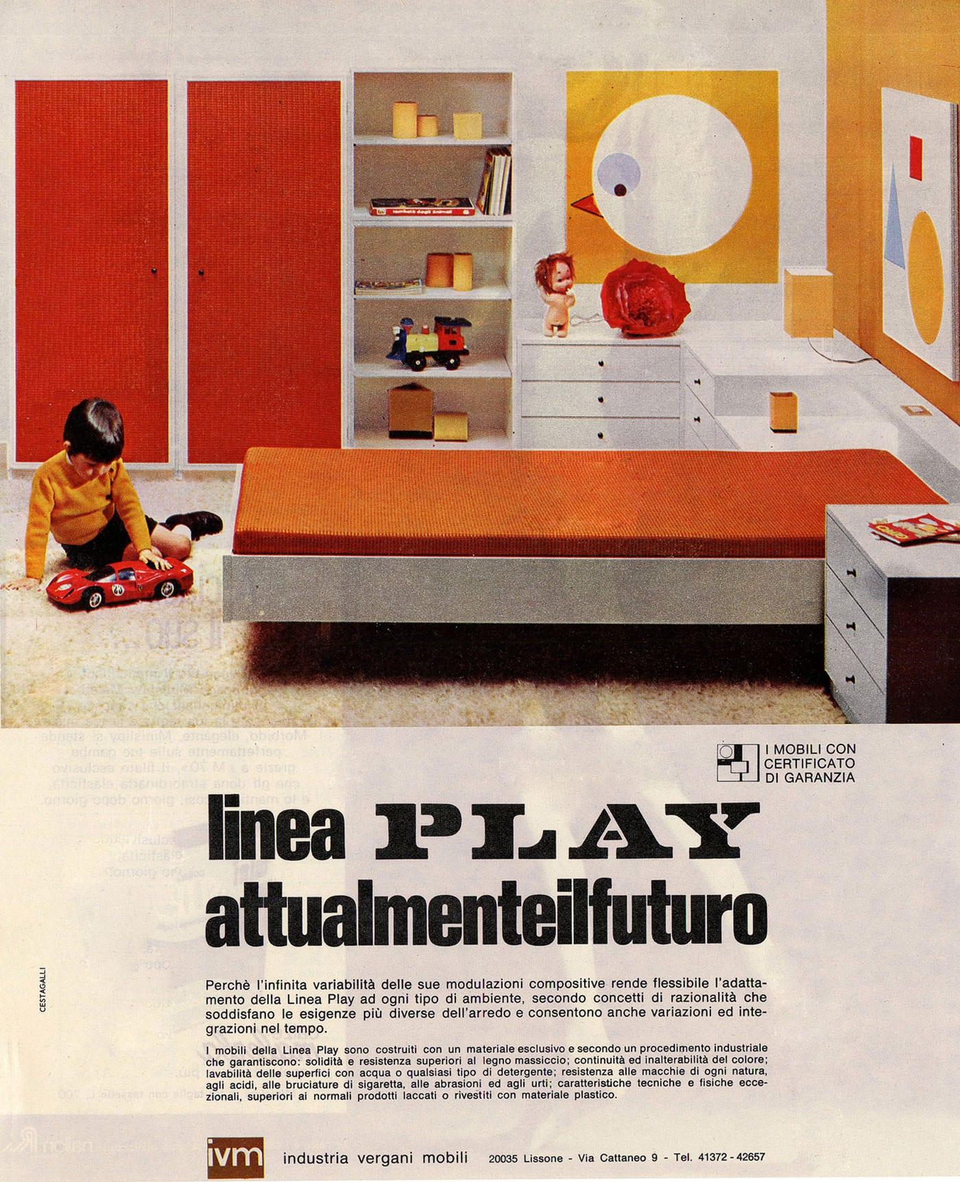 Arredamento per ufficio la storia di ivm office for Mobili ufficio anni 60