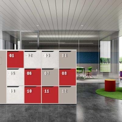 Sistema Integrato Lockers ufficio