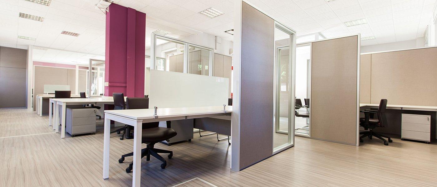 Pareti divisorie amovibili for Divisori da ufficio