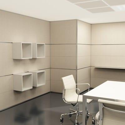 parete attrezzata per ufficio