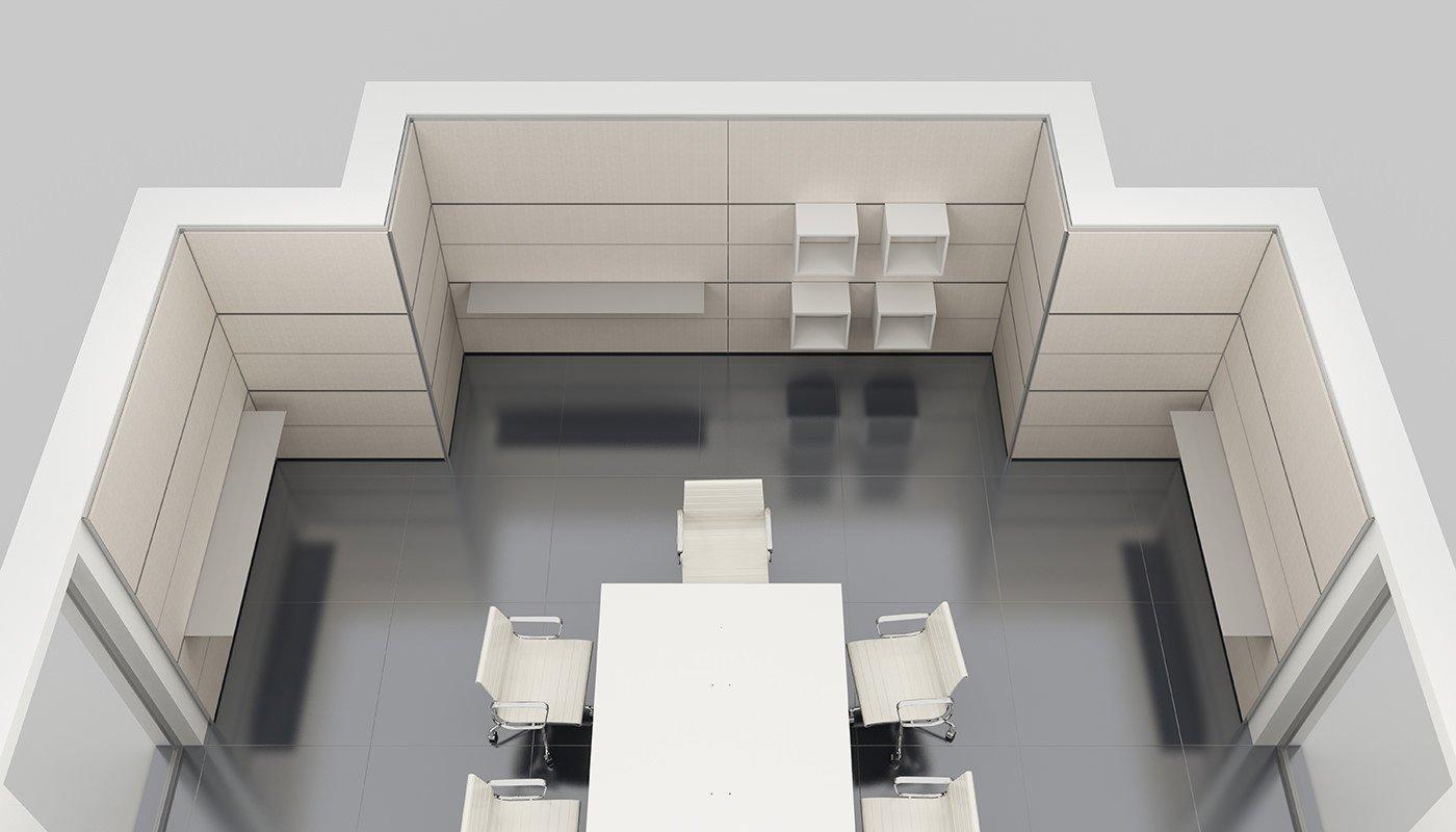 Pareti attrezzate per ufficio - IVM Office